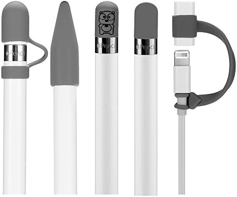 Teyomi 5 Pack Silicone Protective Accessories for Apple Pencil 1st Generation Includes 2 Apple product image