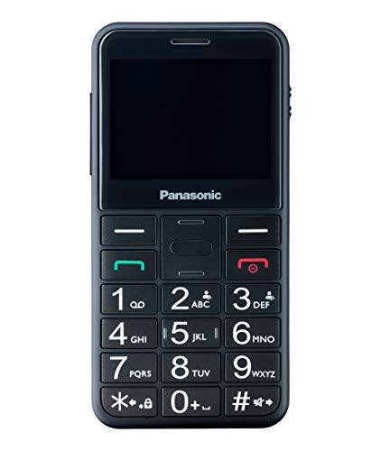 Panasonic Kx-tu150exbn New Black Easy Phone 2.4'