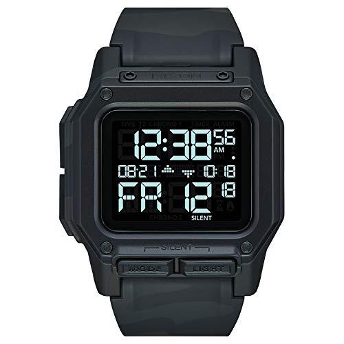 Nixon Reloj Digital para de los Hombres de Automático Chino con Correa en plástico A1180-3015-00