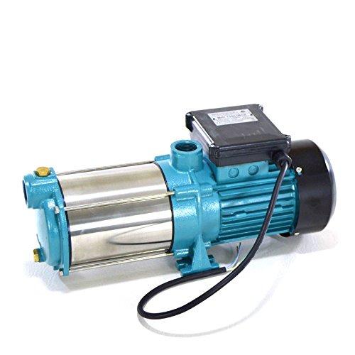 Profi Kreiselpumpe Wasserpumpe Jetpumpe Gartenpumpe 1300 Watt 6000 L/h 5,5 bar