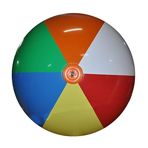 "Jet Creations Giant Inflatable Beach Ball 90"" Inflated Size GBB10, Multicolor"