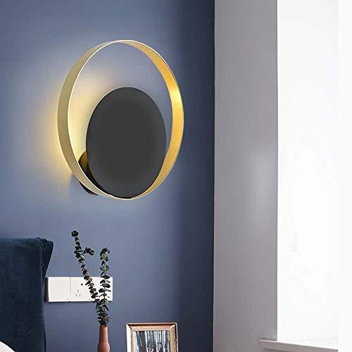 LED wandlamp minimalistisch modern naast bed persoonlijkheid creatieve LED woonkamer licht veranda, hal warm slaapkamer studeerkamer muur lamp diameter 260 x 80 mm