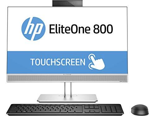 HP EliteOne 800 G4 24-Inch All-in-One Touch PC (i5-8500 Processor, 256GB SSD, 8GB RAM, HD Webcam, DVDWR, WiFi+BT5) Windows 10 Pro