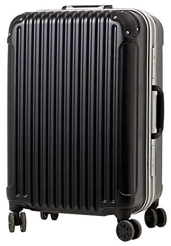 [luckypanda(ラッキーパンダ)] TY051 スーツケース 機内持込 キャリーバッグ 機内持ち込み 小型 フレーム 1年修理保証対応 TSAロック 鍵付 ハード suitcase キャリーバック キャリーケース Sサイズ ブラック