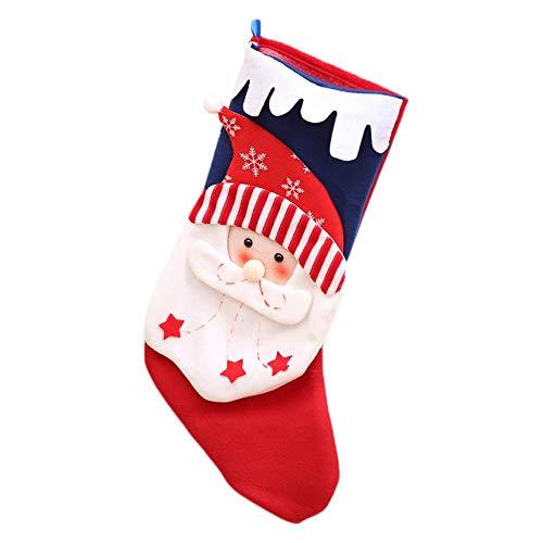 Cosmos 1 Artikel Weihnachtsmann Weihnachtsszene Anordnung Socken Persönlichkeit Kreative Anhänger Süßigkeiten Lagerung Socken Weihnachtsbaum Kamin Anhänger