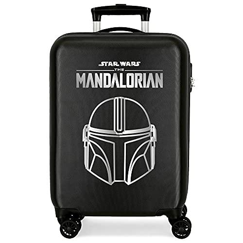 Star Wars Legend Maleta de Cabina Negro 38x55x20 cms Rígida ABS Cierre de combinación Lateral 34L 2 kgs 4 Ruedas Dobles Equipaje de Mano