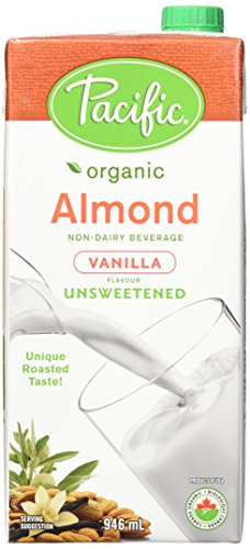 Pacific Natural Foods Organic unsweetened almond vanilla,
