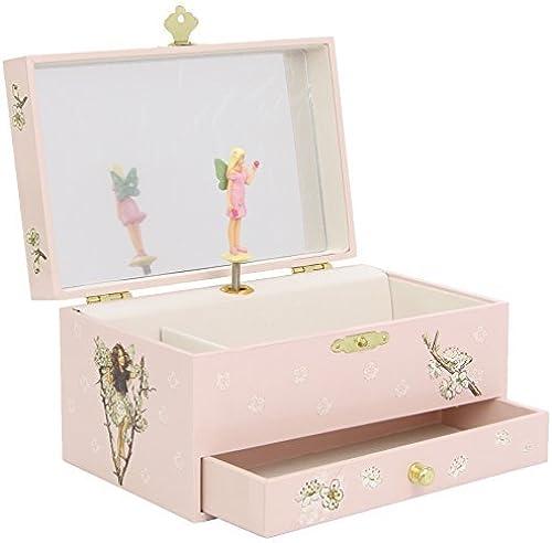 Entrega gratuita y rápida disponible. Trousselier Cherry Flower Fairies Musical Musical Musical Jewellery Box  barato