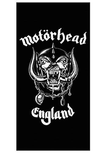 For-collectors-only Motörhead - Toalla de playa, diseño con logo de Inglaterra