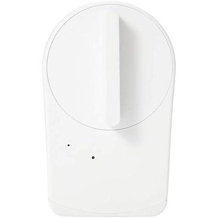 【Works with Alexa認定製品】 セサミ mini スマートロック本体 パールホワイト 取付簡単 スマートフォンでドアを施錠解錠 Google Assistant/Siriショートカット/Apple Watch/IFTTT対応 mini White