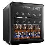 Weinkühlschrank, Mini kühlschrank, Getränkekühlschrank von 16 Flaschen 46L/ 4-16℃/ 43dB - 8