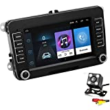 GOFORJUMP 2 DIN Android 7'GPS Navigation Car Stereo Radio Media Player para Bora Golf VW Polo Volkswagen Passat B6 B7 Touran con cámara de visión Trasera