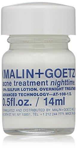 Malin + Goetz Acne Treatment Nighttime, 0.5 Fl Oz