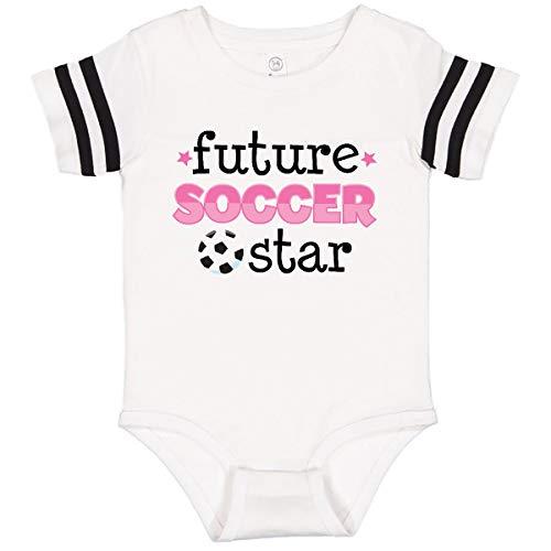 inktastic Future Soccer Infant Creeper Newborn Football White and Black Ed8c