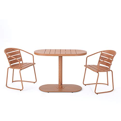 this bistro set is one of many balcony furniture ideas for small balconys