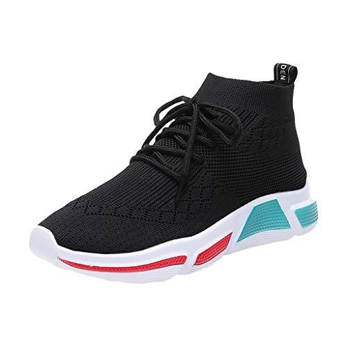 Luoluoluo Sneaker Sock Dames zomer roosterweefsel sportschoenen hoog ademend vrouwen vrijetijdsschoenen lichte wandelschoenen loopschoen