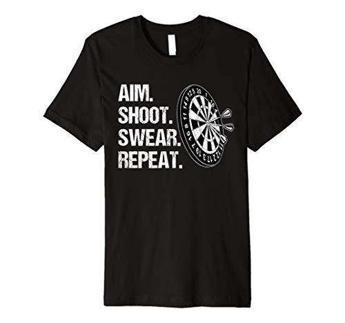 Aim Shoot Swear Repeat Shirt