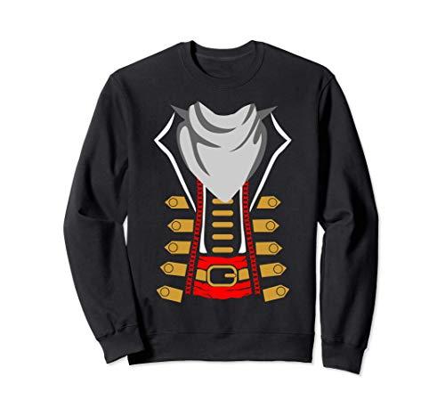 La idea del disfraz de pirata de la fiesta de Halloween de l Sudadera
