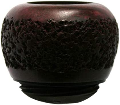 Falcon Standard Pipe Bowl Rusticated from Briar Item No SB15 product image