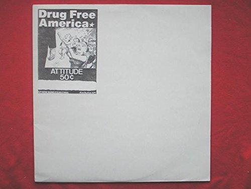 Drug Free America Altitude 50c LP Blind Eye BE10 EX/EX 1990s white label test pressing with insert