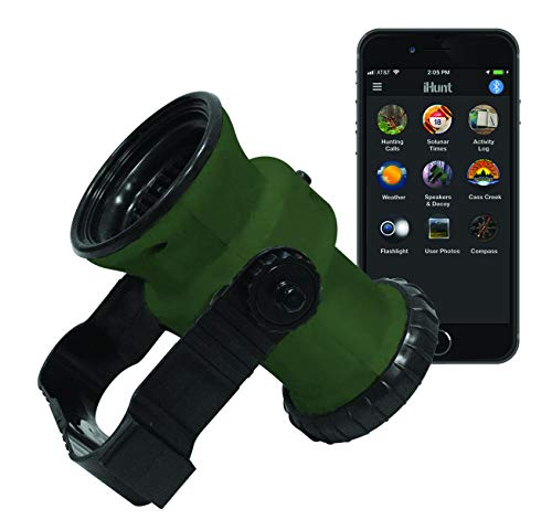iHunt Ultimate Electronic Game Call & Bluetooth Speaker Combo, EDIHGC, FREE App with 750 Animal Calls, 59 species, Rugged & Portable