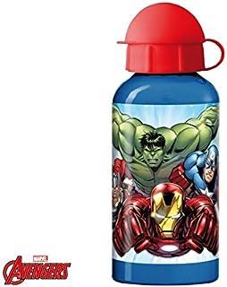 Avengers Alluminio Argento Bevande Bottiglia 500ml