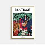 Abstrakte Charaktere Matisse Wandkunst Nordische Poster und