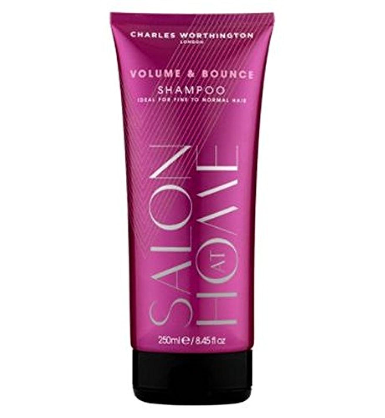 ライセンス解任決定[Charles Worthington ] チャールズ?ワーシントンボリューム&バウンスシャンプー250Ml - Charles Worthington Volume & Bounce Shampoo 250Ml [並行輸入品]