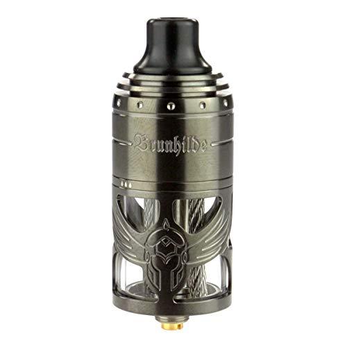 VapeFly Brunhilde MTL RTA Clearomizer 5 ml, Durchmesser 23 mm, Verdampfer für e-Zigarette, gunmetal 21501.00003