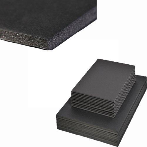 Schaumkarton, A3, 3mm, schwarz, 5 Bogen [Spielzeug]