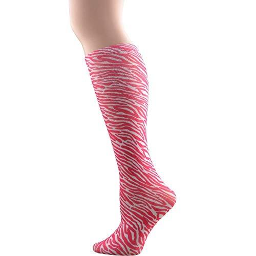 Compressie Sokken 2 Paar Vrouwen Regenboog Gedrukt Winter Warm Lange Sok Mode Kabel Comfortabele Lange Laarzen Sokken Super Zachte Dij Hoge Dames Sokken Stijl D