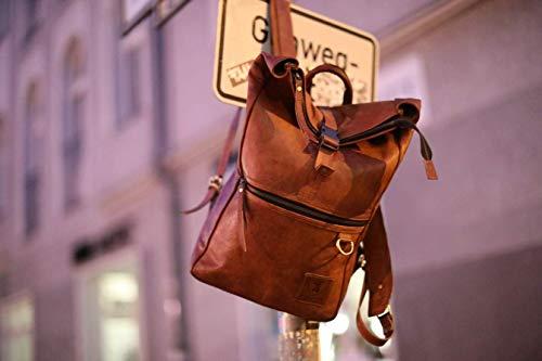 Berliner Bags Lederrucksack Vintage