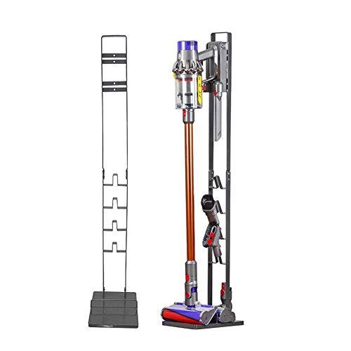 Bison Ständer für Dyson Akkusauger - Organizer für Dyson V6,V7,V8,V10,V11,DC30,DC31,DC34,DC35 Standfuß Halterung Rahmen (Anthrazit)