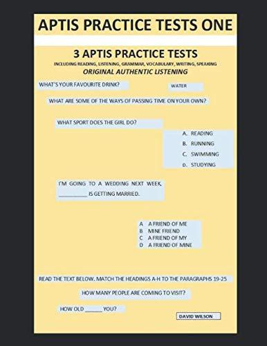 Aptis Practice Tests One: Original Authentic Listening