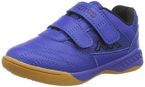 Kappa Unisex-Kinder Kickoff OC Kids Sneaker, 6011 Blue/Black, 39 EU