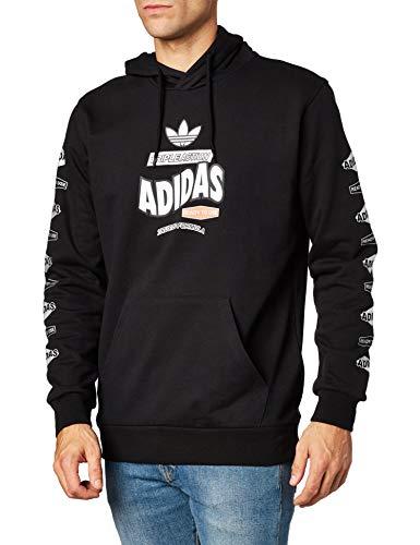 adidas Herren Sweatshirts Bodega M Schwarz