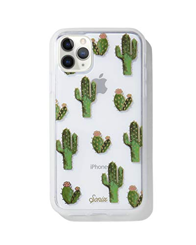 Sonix Prickly Pear Case for iPhone 11 Pro [Military Drop Test Certified] Protective Clear Cactus Case for Apple iPhone X, iPhone Xs, iPhone 11 Pro