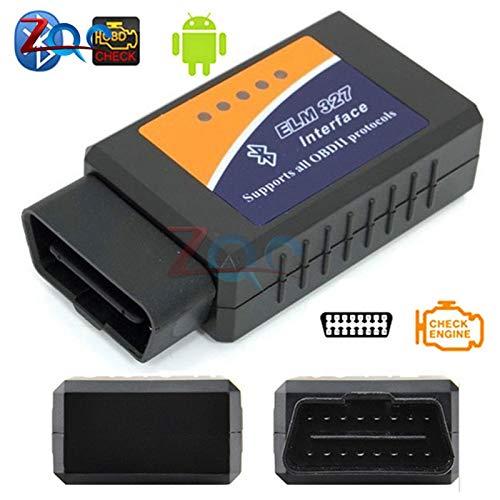 Mini ELM327 Bluetooth 2,0 interfaz v 1.5 OBD2 OBD 2 auto diagnóstico-herramienta Elm 327 trabaja para Android torque/PC v 1,5 BT Adapter