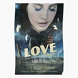 Del Rey Lana Top Trending Wall Art Decor Gift Showtime Poster