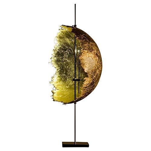 Minimalista Moderno Lámpara de Mesa de Arte Creativo Estilo Nórdico Lámpara de Escritorio Moon Semicírculo 3000K Luz Cálida