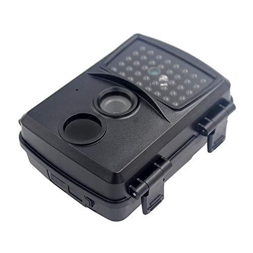 Wildkamera 12MP 1080P, Wildtierkamera mit Nachtsichtbewegung Wasserdicht für Outdoor-Natur, Garten, Haussicherheitsüberwachung Grün