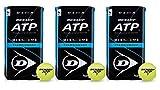 Dunlop ATP Championship Six Pack Tennisball 6 x 4er Dosen 24 Bälle