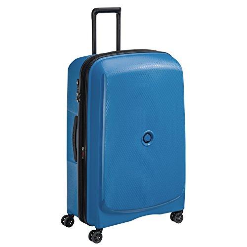 DELSEY PARIS BELMONT PLUS Valise, 123 litres, bleu cyan