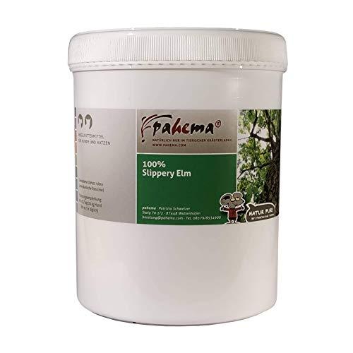 pahema Slippery Elm - Amerikanische Ulmenrinde - gemahlen - für Hunde und Katzen - 100% Natur (100 g)