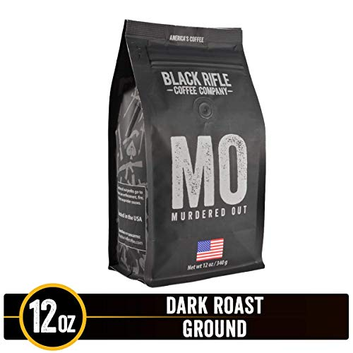 Visit the Black Rifle Coffee Company - Murdered Out Dark Roast Ground Coffee on Amazon.