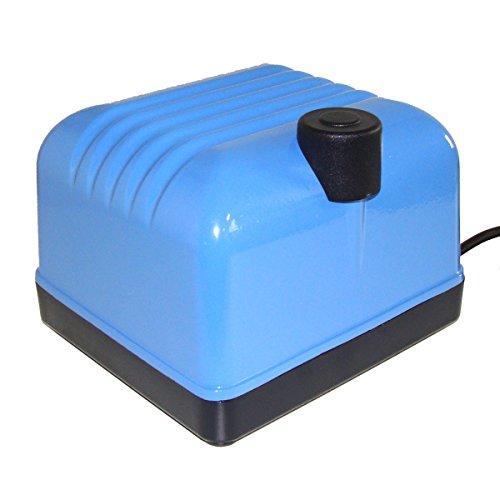 Aquaforte Hi-Flow Luftpumpe V-20, 9 l/min (bei 1,2 m), sehr leise, 15 W