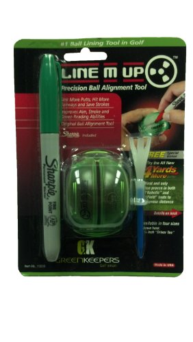 Greenkeepers Line M Up Precision Ball Alignment Tool (Green)