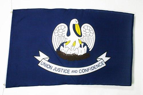 AZ FLAG Drapeau Louisiane 150x90cm - Drapeau Etat américain - USA - Etats-Unis 90 x 150 cm - Drapeaux
