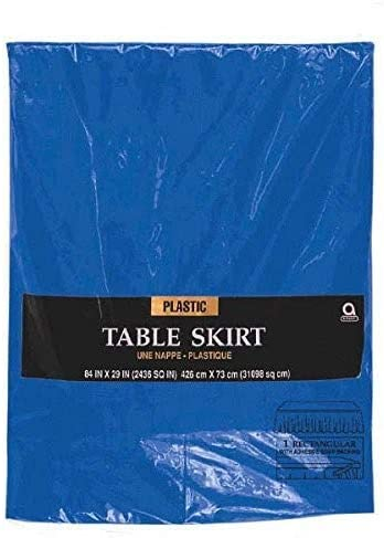 Amscam Solid Color Beauty products Party-tablecovers 14' 29