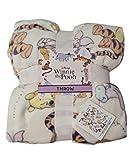 Disney Winnie The Pooh Bed Throw Blanket Home Decor (1 x Throw)